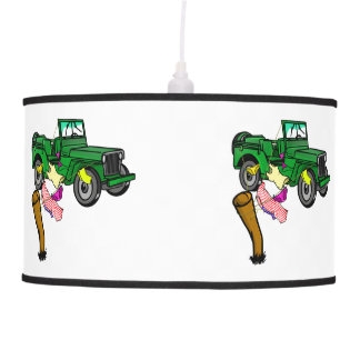 Funny Military 4WD Pendant Lamp