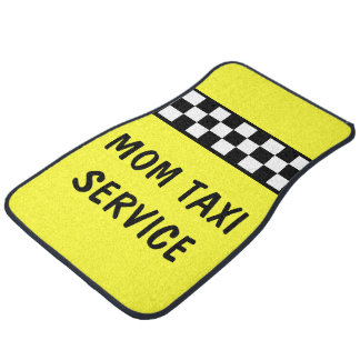 Funny Mom Taxi Service Car Mats Car Carpet