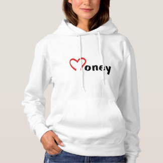 funny money women basic hooded sweatshirt HQH