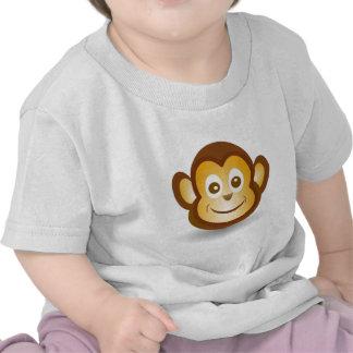 Funny monkey animation cartoon illustration tshirt