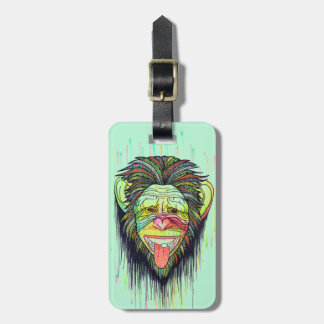Funny Monkey Bag Tag