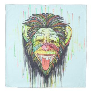 Funny Monkey Duvet Cover