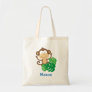 Funny Monkey in the Jungle Tote bag