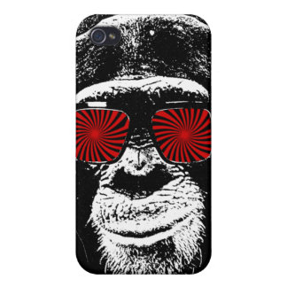 Funny monkey covers for iPhone 4