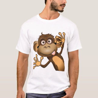 Funny Monkey Mens T-Shirt