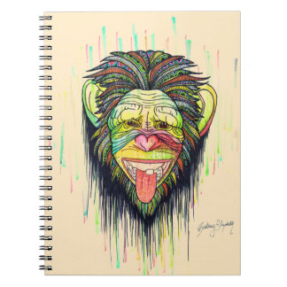 Funny Monkey Notebook