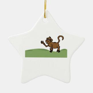Funny Monkey Ornament