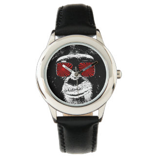 Funny monkey wrist watches