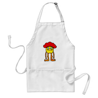 funny monster aprons