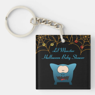 Funny Monster Baby Shower Key Chains
