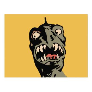 Funny Monster Postcard