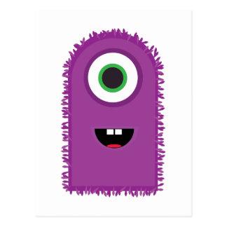 Funny Monster Post Card