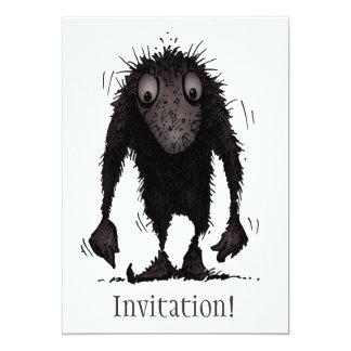 "Funny Monster Troll 5"" X 7"" Invitation Card"