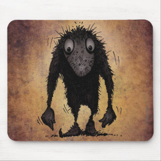 Funny Monster Troll Mouse Pad