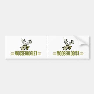 Funny Moose Bumper Sticker