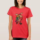Funny Moose Hiking Shirt