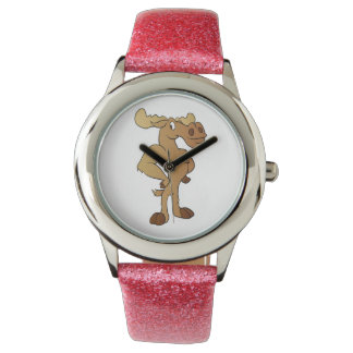 Funny moose watch