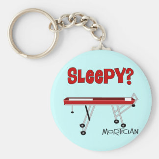 Funny Mortician Gifts Keychain