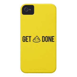 Funny Motivation - Get Stuff Done iPhone 4 Case