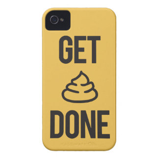 Funny Motivation - Get Stuff Done iPhone 4 Case-Mate Cases
