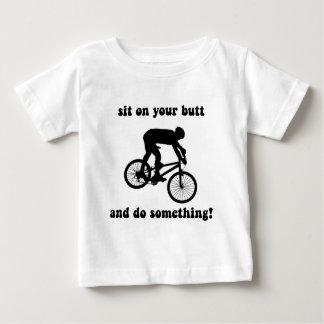 Funny mountain biking baby T-Shirt