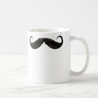 funny moustache mug