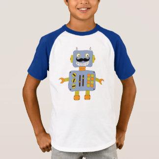 Funny Moustache Robot T-Shirt