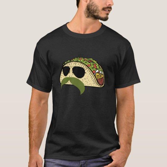 Funny Moustache Taco T-Shirt