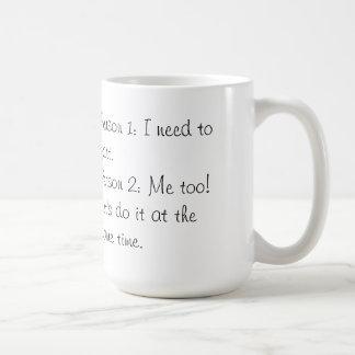 Funny Mug! Basic White Mug