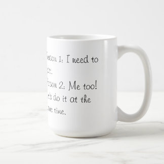 Funny Mug! Classic White Coffee Mug
