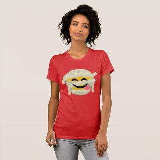 Funny Mummy Bleh Emoji Halloween Funny Halloween T-Shirt