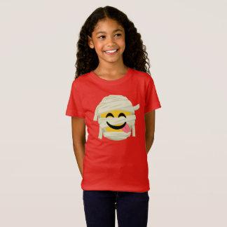 Funny Mummy Bleh Emoji Halloween T-Shirt