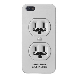 Funny Mustache Outlet iPhone 5 Cover