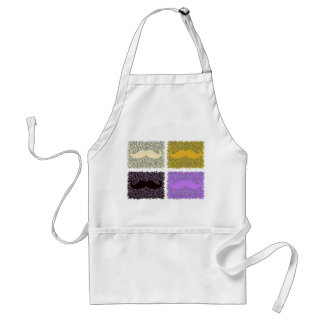 Funny Mustaches Standard Apron