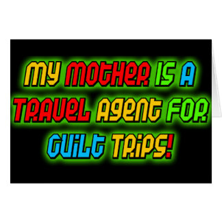 Funny My Mother T-shirts Gifts Card