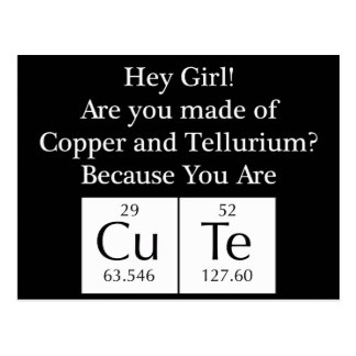 Funny Nerd Chat Up Line Postcard