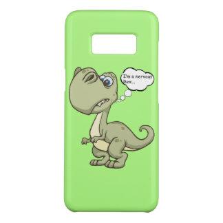 Funny 'Nervous Rex' T-rex Case-Mate Samsung Galaxy S8 Case