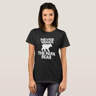 Funny Never Wake The Papa Bear T-Shirt