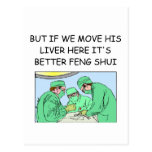 funny new age doctor joke post cards
