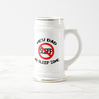 Funny New Dad Beer Stein