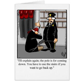 Funny New Job Congratulations Card