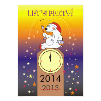 Funny New Year's Eve Party Invitations