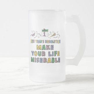 Funny New Year's Resolution Coffee Mug
