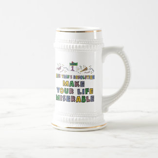 Funny New Year's Resolution Mugs