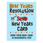 Funny New Years Resolution © New Year Humour Cards