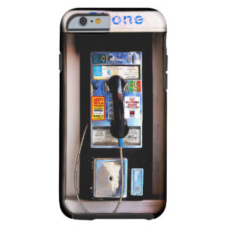 Funny New York Public Pay Phone Photograph Tough iPhone 6 Case