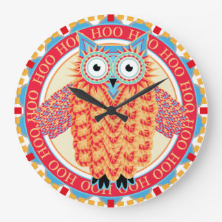 Funny Night Owl Hooting Round the Clock