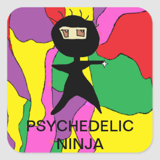 FUNNY NINJA CARTOON STICKERS