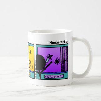 Funny Ninja Starfish Stickman Mug - 103