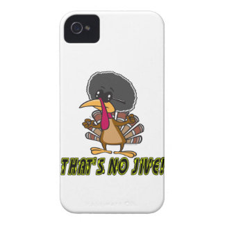 funny no jive turkey cartoon iPhone 4 case